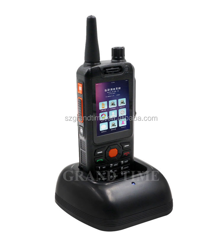 4G 5.1 Zello Android Walkie Talkie PTT With Instand Camera and Wifi, BT