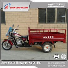 wholesale China factory 150cc three wheel motorcycle electric moped truck cargo tricycle