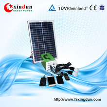 Super Quality Competitive Price 10W-30W 7-12A 12V Hand-held Solar Power Generator