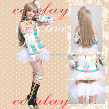 Sexy Fairy Popular Kimono Ball Dress Anime Lovelive Cosplay Costumes