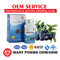 Blueberry Vitamin C 500 chewable 60 tablets