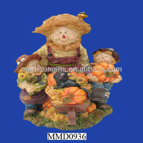 Fall harvest Thanksgiving custom resin figurines