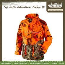 orange camo men's hunting military jacket women