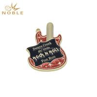 New Design Custom Music Prize Color Guitar Shape Medal Gifts