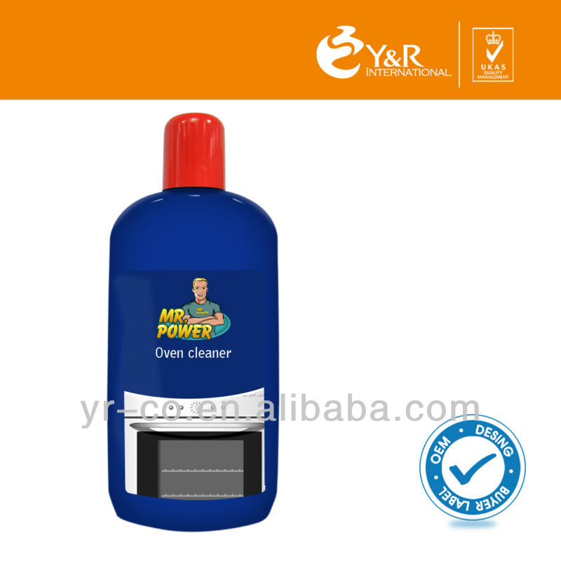 2014 High Quality Oven cleaner 250ml oven and grill cleaner