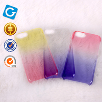 Clear Rainbow Colors Wholesale PC TPU Cell Phone Case For iPhone 7 Plus Case