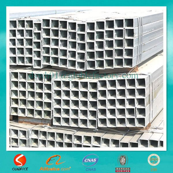 BS1387 /ASTM A53 GALVANIZED STEEL TUBO FOR WATER AND CONSTRUCTION