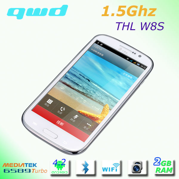 2GB RAM Mobile Phones W8s Camera Phone with 13 MP Camera,RAM 2GB ROM 32 GB ,MT6589T Quad Core Smart
