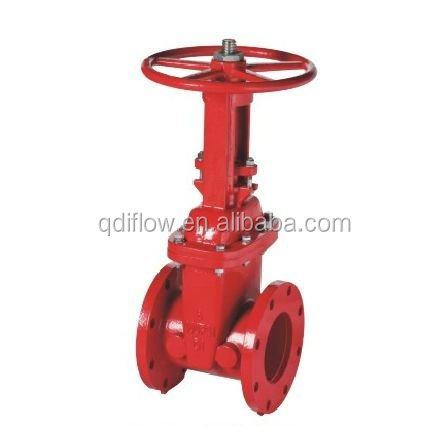 200PSI Ductile Iron UL Listed Valves