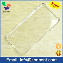 Ultra thin transparent phone accessories cheap silicon case for iphone 6 6s
