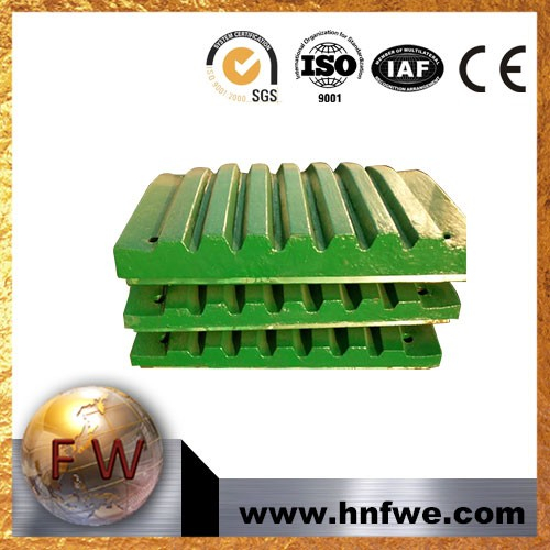 Crusher Parts for Extec C10+ C12+Swing Jaw, Fixed Jaw, Supertooth, Sharp Tooth, Multitooth, Quarry