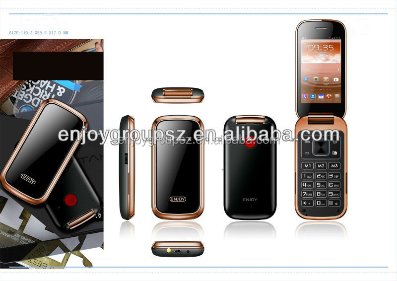 Hot selling W58 qwerty keyboard chinese mobile phones 3G seniors android 4.2 mobile phone