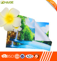 Superfine eyeglasses Cleaning Cloth , decorated microfiber cleaning cloth