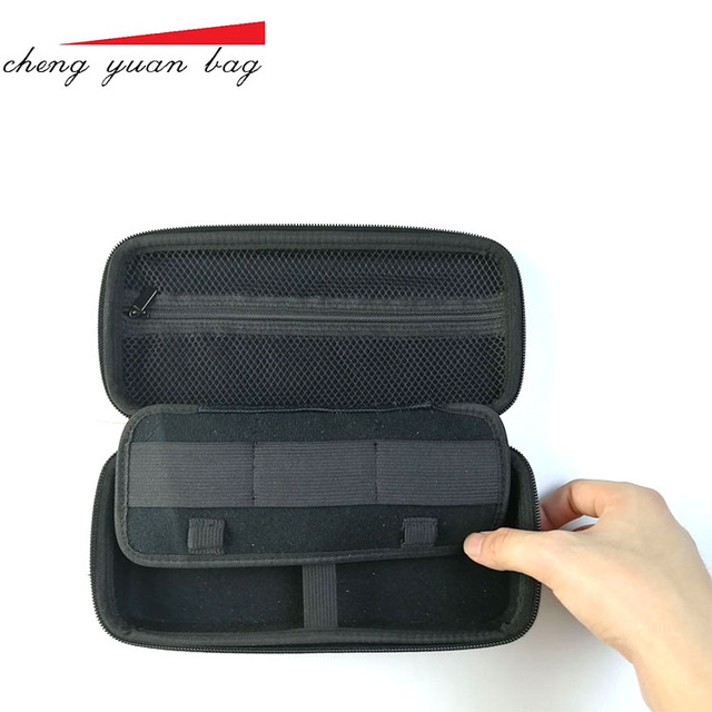 Carrying portable shockproof protective travel calculator case with handle