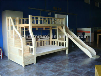 Solid pine wood children bunk bed cheap solid wood bed bedroom furniture buy solid pine wood Unfinished childrens bedroom furniture
