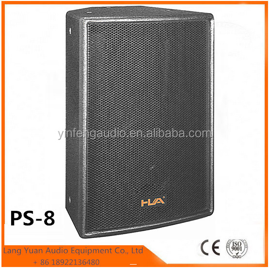 8 Inch Sound Box /outdoor dj equipment /System Active Speaker Box