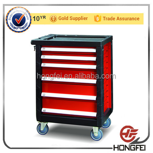Wholesale 27 inch 6 drawer tool box side cabinet