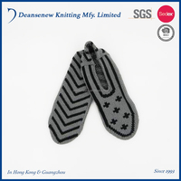 New Design European Customize 100% Acrylic Arrow Jacquard Winter Warm Unisex Adult Men Women Teen Multi Color Knitted Slippers