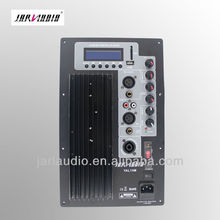 Plate amplifier speaker cabinet active speaker amplifier stereo mixing amplifier