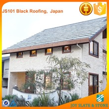 Black slate japanese roof tiles