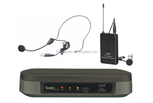 TKC BT-8012 UHF Wireless PLL Headset Microphone System
