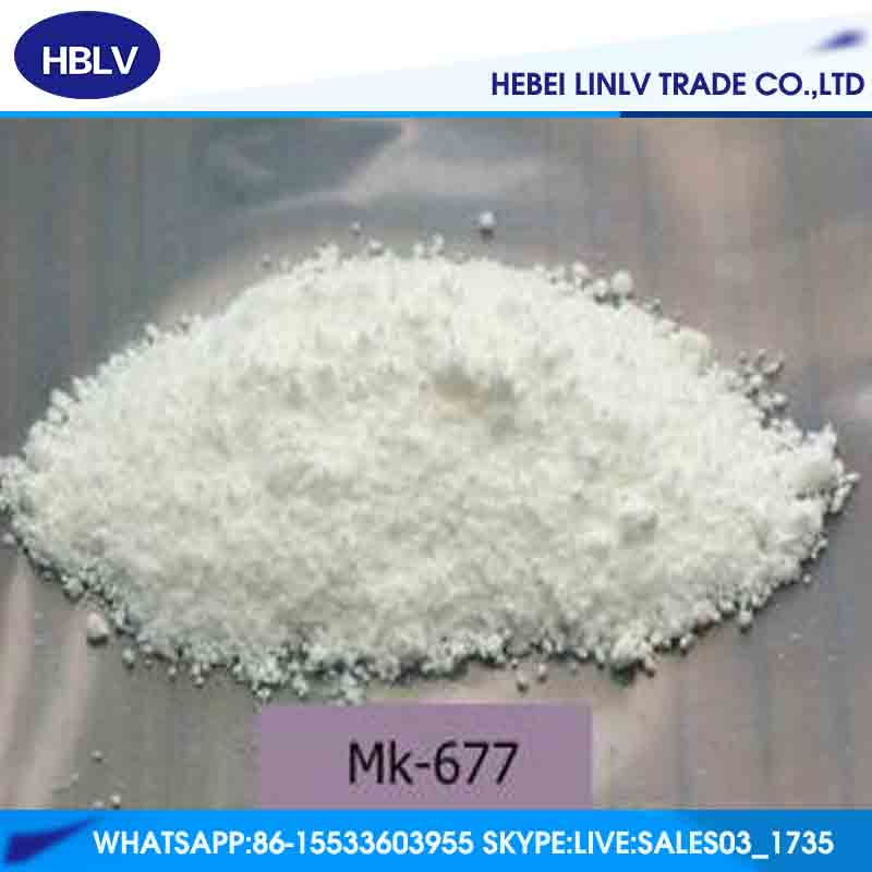 High quality 99% MK-677/Ibutamoren mesylate with reasonable price CAS 159752-10-0