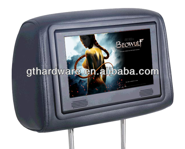 7-10.1 inch bus taxi /car headrest advertising player video display