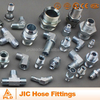 JIC threads adapter hydraulic hose fitting Hose Assembly