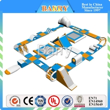 Factory price products inflatable park water sport , big inflatable floating inflatable water park islands for lake By-FWP-127