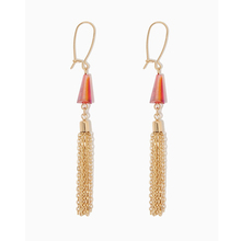 Beads Design Earring, Chain Tassel Earring, Pendant Fashion Earring