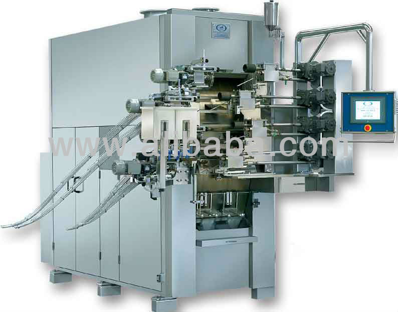 4 lines wafer stick machinery