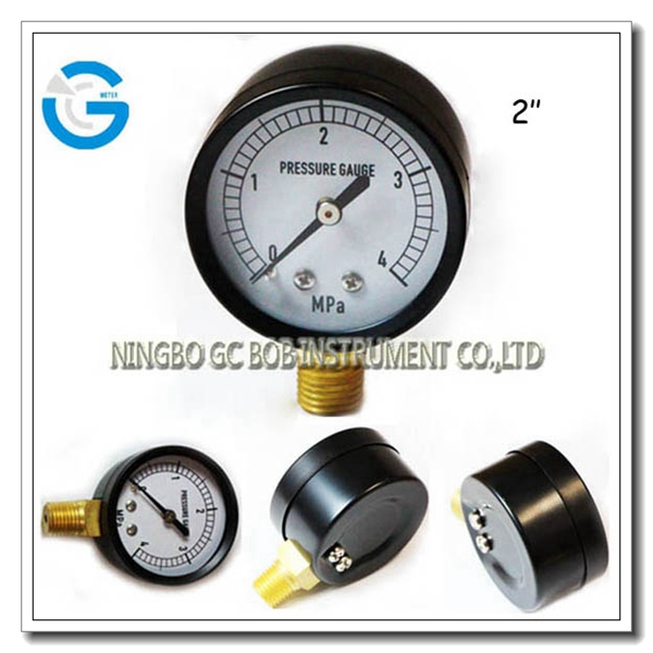 High quality bottom connection general pressure gauge