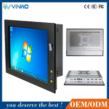 12.1'' WIN7/8 Fanless Touch Screen Industrial PC / Industrial Panel PC