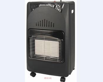 Hausberg foldable gas heater black and  beige