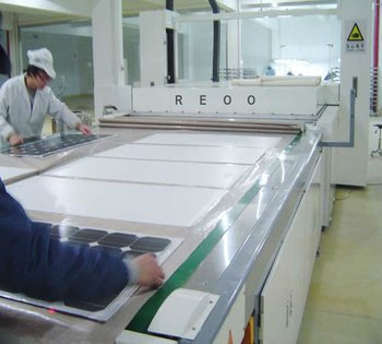 REOO Turnkey IV Solution Solar Panel Production Line Solar Panel Machine