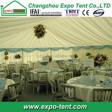 Outdoor wedding tent tables and chairs supplier in China