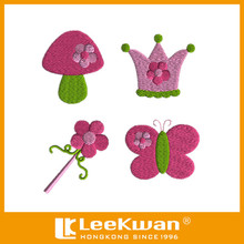 Garden Fairy Machine Embroidery Design With Iron-on Backed For Garments