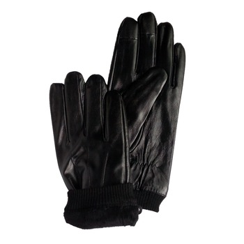 stock lamb leather gloves clearance cheap magic touch screen leather gloves on sale