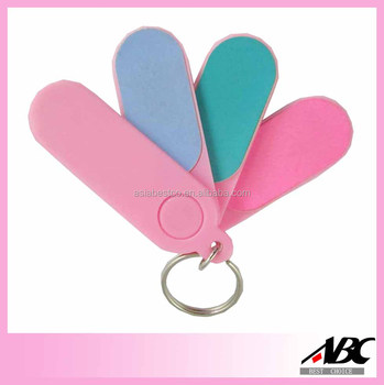 Popular Plastic Personalized Mini Nail File