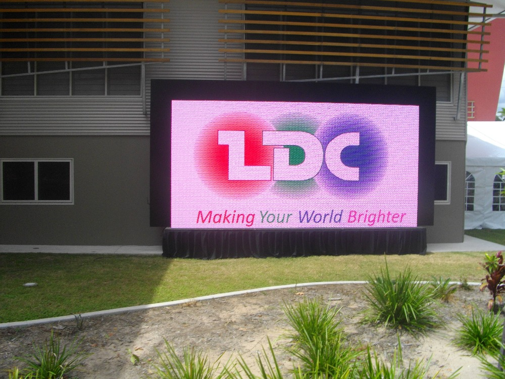 outdoor digital led sign Single color full color p10 advertising led display outdoor