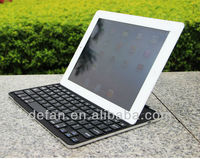Mobile Aluminum Bluetooth Wireless Stand Keyboard Case Dock for New Apple iPad 4th 3rd 2