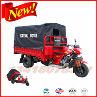 200cc Automatic dump Tri motorcycle/ trimotos/ motor tricycle/ three wheel motorcycle for cargo and passenger
