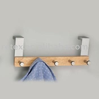 Decorative wooden door hangers over door clothes hanger for 10000 door hangers