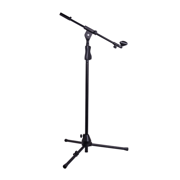 heavy duty one handed Height Adjustment music microphone stand