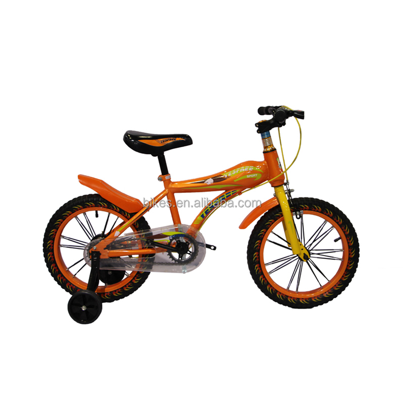 2017 China Factory Price BMX Bike Hot Selling High Quality Kids Bike Bicycle With 2 Training Wheels 16 inch Kids Bike