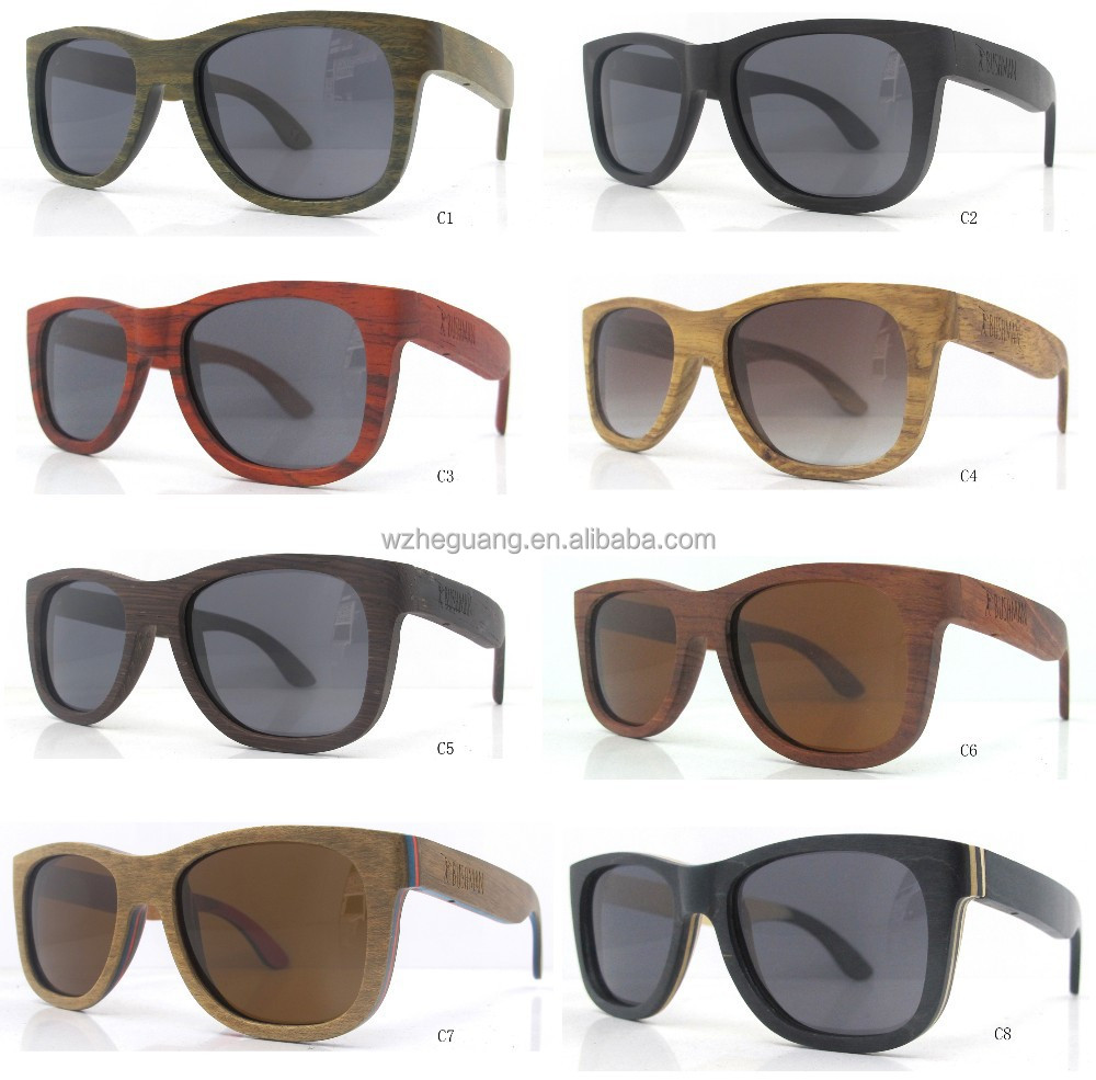 2015 cheap wooden glasses , wood framed sunglasses