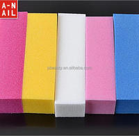 Pedicure Manicure 4 Way Nail Buffer Block Buffing Sanding Files Shiner Block