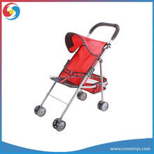 WW3608704 Silver Color Iron Pipe Sunshade Baby Trolley