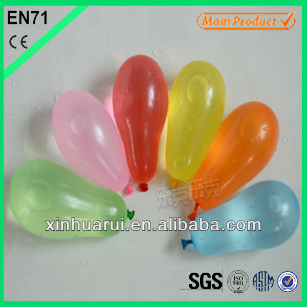 "Inflatable Balloons Kid Outdoor Shooting Ballon Toy for HOLI 3"" Small Water Balloon"