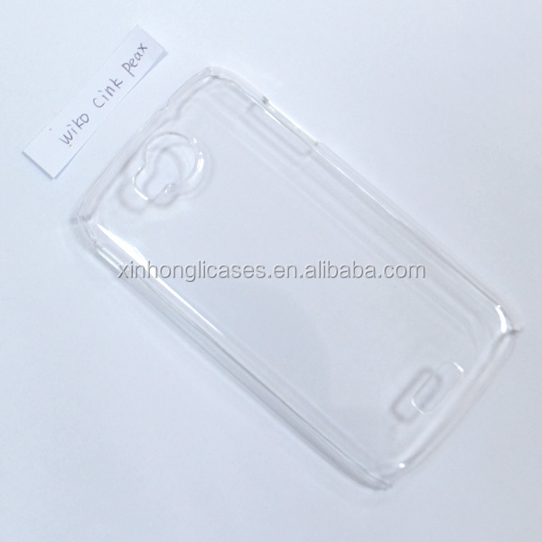 Crystal Clear Case For Wiko cink peax